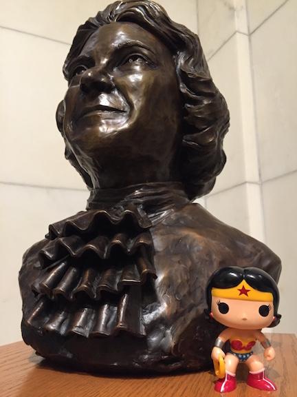Sandra Day bust