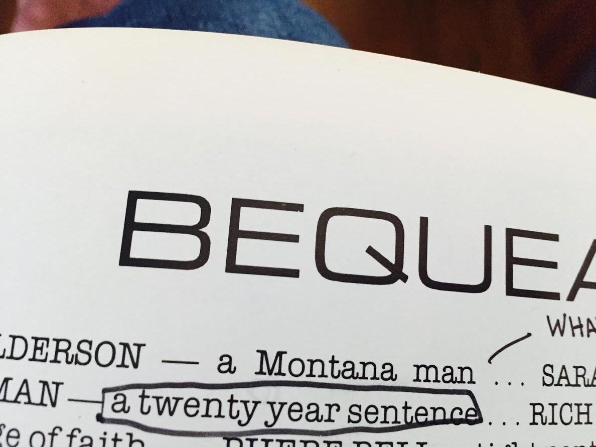 bequeath